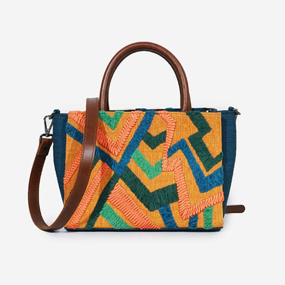 Razzle Mustard - Satchel Bag