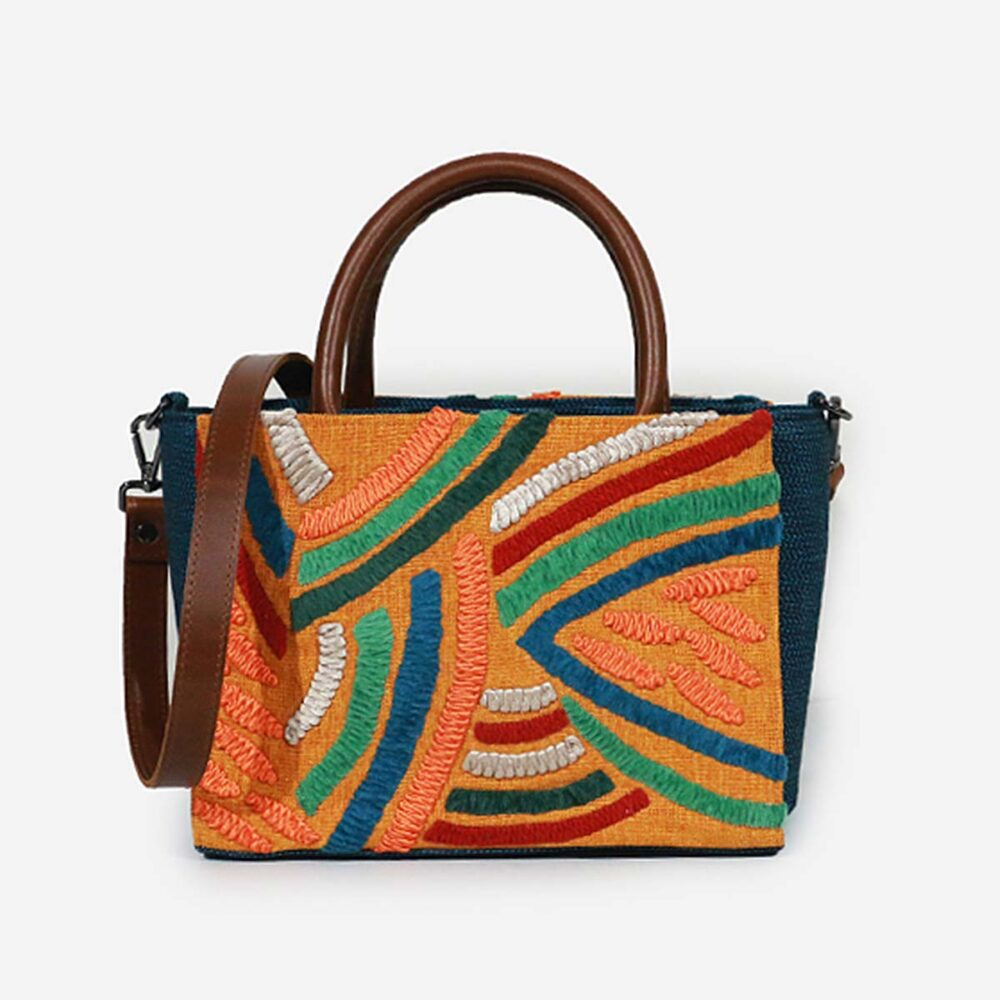 Ruddy Orange - Satchel Bag