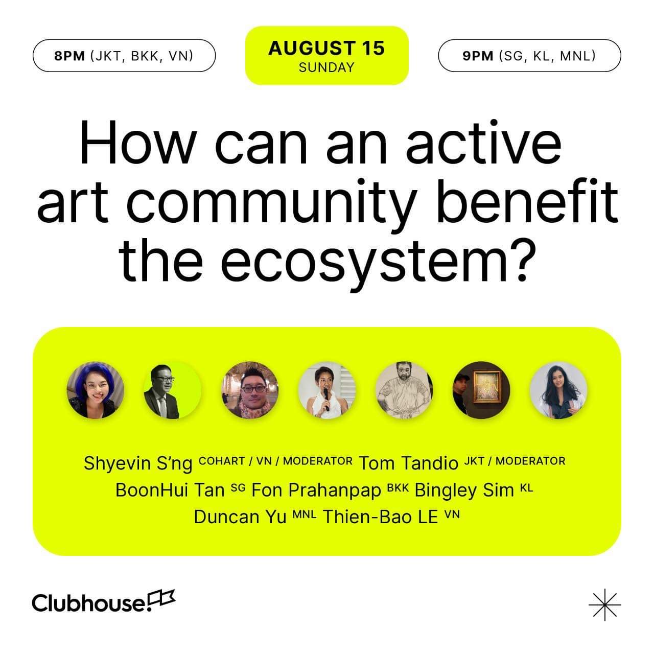 How can an active art community benefit the ecosystem?