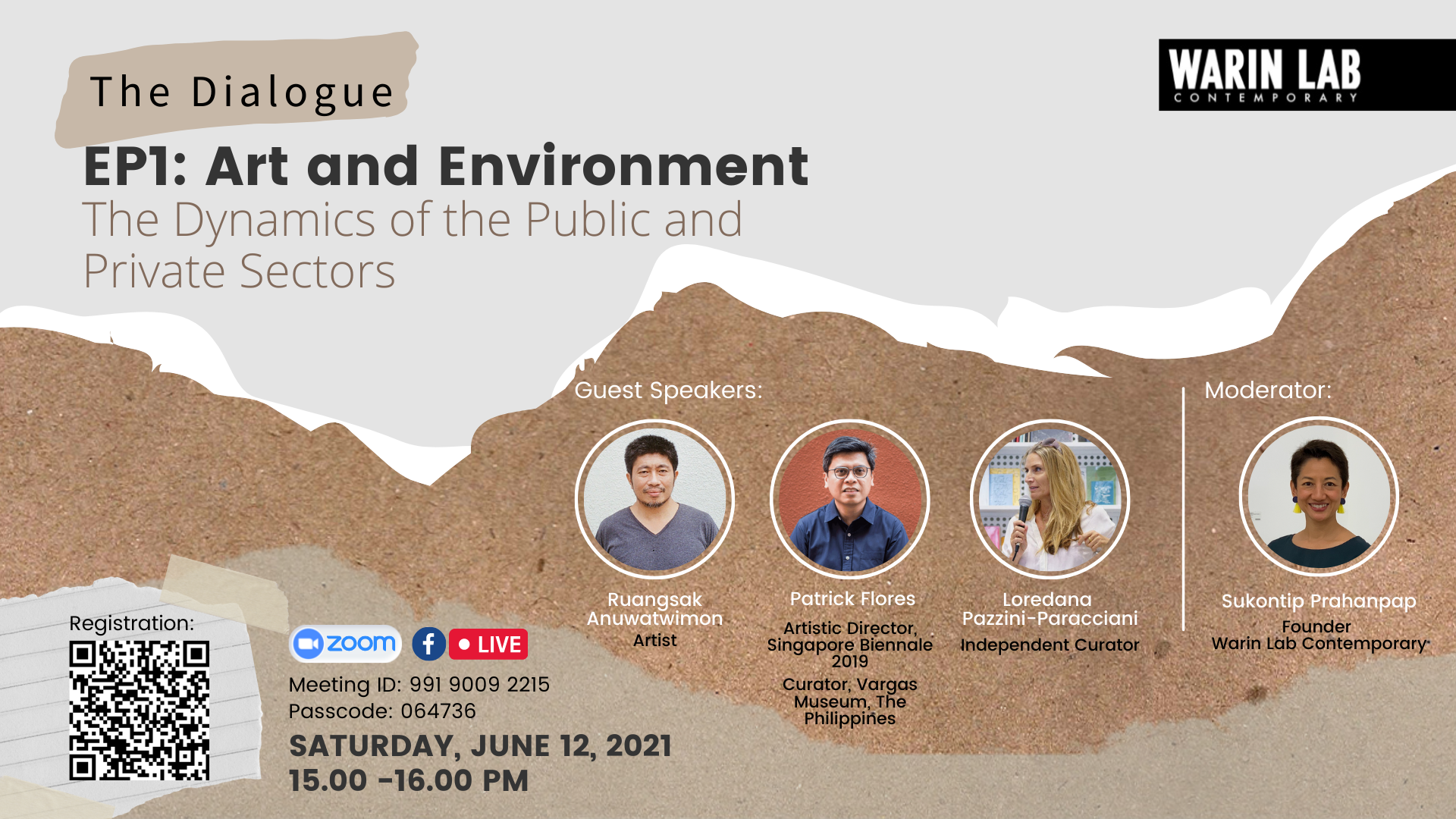 The Dialogue EP1: Art and Environment | The Dynamics of the Public and Private Sectors